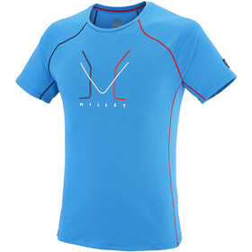 Millet Trilogy Delta Logo Short Sleeve Shirt Herre light sky